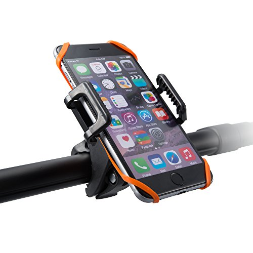 Bike Mount Bicycle Holder, Taotronics Universal Cradle Rack for iOS Android  Smartphone GPS other Devices, with One-button Released, 360 Degrees